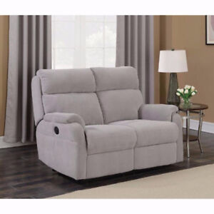 Marsellus Contemporary Power Recliner Loveseat - Grey New