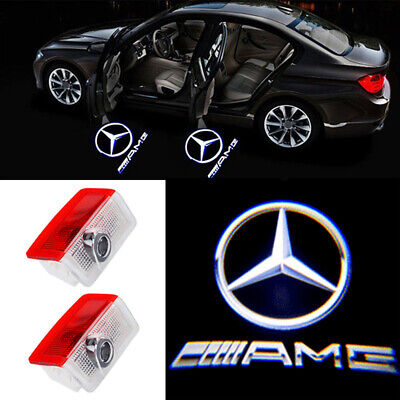 2 X Willkommen Laser Projektor TürLicht Logo LED Lampe für Mercedes Benz B W242