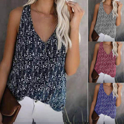 Women Summer Casual Short Sleeve T Shirt Crew Neck Floral Top Loose Blouse Tunic Clothing, Shoes & Accessories
