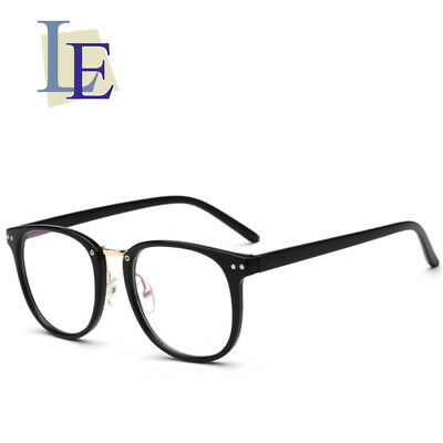 LE Plastic Glasses Frames Optical Prescription Eyewear Big Square Eyeglass (Big Optical Glasses)