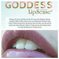 Smudgeproof, Kissproof and last for up to 18 hours(Lipsense)