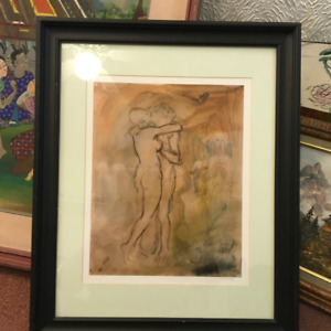 """Pablo Picasso """"The Kiss"""" Color Lithograph Giclee"""