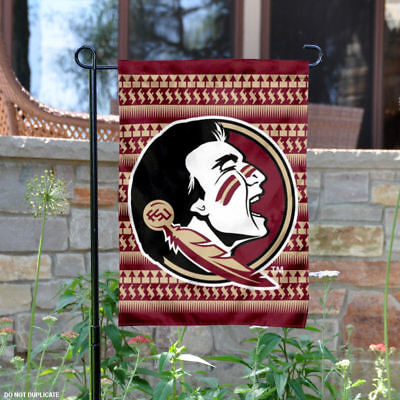 FSU Seminoles Chevron Garden Flag and Yard Banner