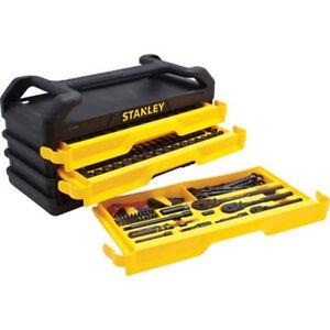 Stanley Socket Set 203-pc Mechanic Tool Box