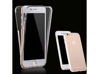 Transparent TPU Case for 5 6s 6 Plus Soft full Body Clear Case