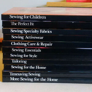 Singer Sewing Books