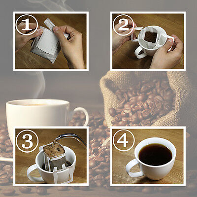 Anleitung für Brühkaffee