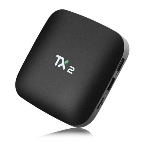 TX2 mediaspeler smart TV box Android 6.0 KODI 2GB+16GB - ...