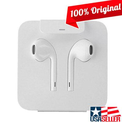 Original Apple iPhone 7/7 Plus Genuine Earbuds Headphones w/ Lightning Connector