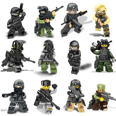 12x Specter Assault Team Swat CS Counter-Strike Blocks Mini figures Fit Lego TOY