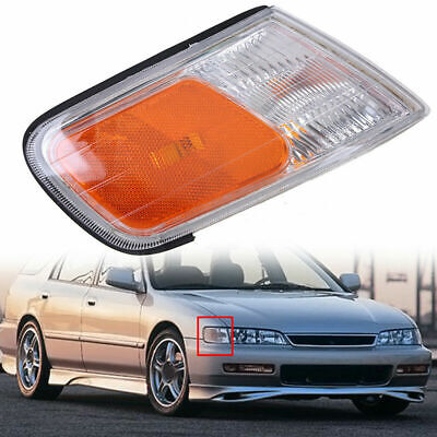 Right Side Parking Side Marker Light Lamp Cover ABS for 1994-1997 Honda Accord 1997 Honda Accord Abs Light