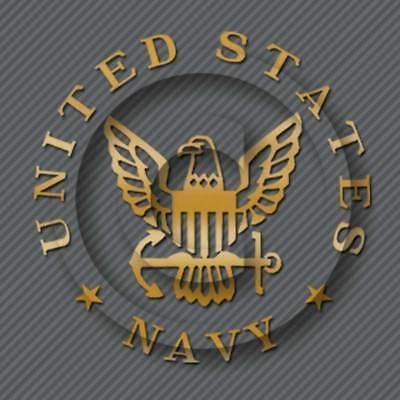 US Navy Decal Military Veteran Car Truck Window Sticker Seal Carrier Battle Ship