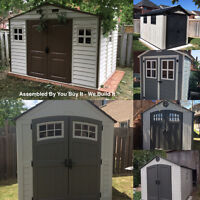 Shed Assembly & Installation