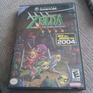 Zelda games for Gamecube