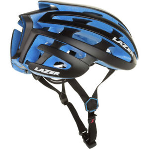 Lazer Z1 black/blue size M performance cycling helmet