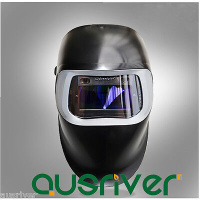 3M Speedglas 100V Auto Darkening Welding Helmet+ 2x Films We