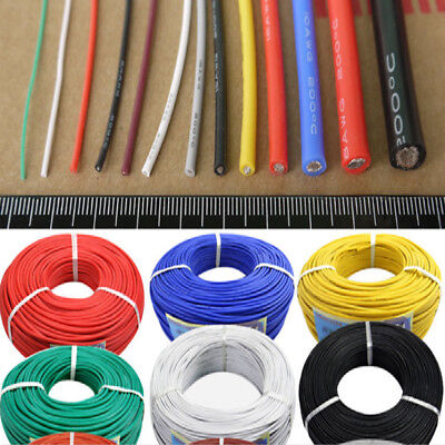 30awg-2awg Ul Strand Silicone Soft Cable 600v 200 0.08mm Rc Wire Il