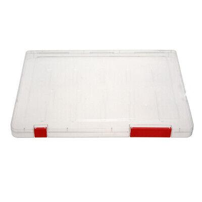 A4 Files Plastic Document Case Storage Box Holder Paper Office School Organi 3s3