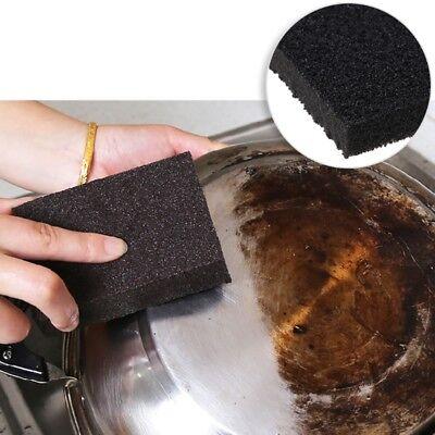 Magic Emery Sponge Brush Eraser Cleaner Kitchen Rust Cleaning Tool Rub Pot