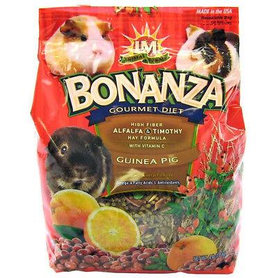 Bonanza Gourmet Diet (LM Animal Farms Bonanza Gourmet Diet- Guinea Pig Food )
