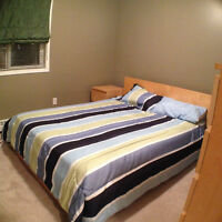 FULLY FUNISHED, Exec Style, 2 bedroom Condo, Central Edmonton
