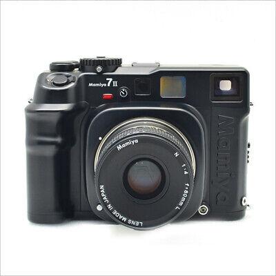Mamiya 7 II Medium Format Rangefinder Film Camera - Black 80mm f4 kit