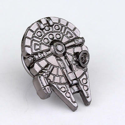 2a6b261bb3f STAR WARS Millenium Falcon Logo Metal Pin brooch prop badge darth vader  cosplay