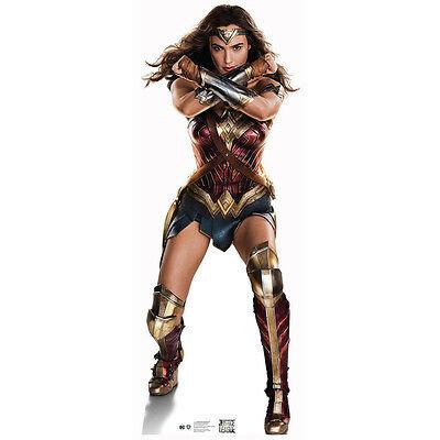 Cardboard Cutout (WONDER WOMAN Justice League CARDBOARD CUTOUT Standup Standee Poster Gal)
