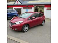 Nissan Note 1.2 80ps Style pack Acenta 5 Door Hatch Petrol Car £20 Road Tax