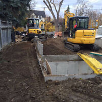 Excavation,Demolition,Grading,Trenching,Swimming Pool Backfill