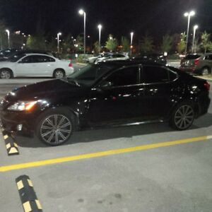 2007 Lexus IS 250 AWD Comfort and Technology Package Sedan