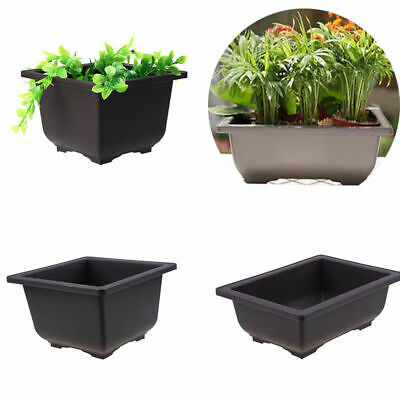 Flower Pot Balcony Basin Home Garden Bonsai Plant Bowl Nursery Planter Flowerpot