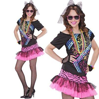 Damen Kostüm 80er Jahre ROCK GIRL 80ties Gr. M (38/40) Dance Tanz Musik #98892
