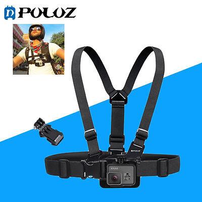 PULUZ Adjustable Body Mount Belt Chest Strap for GoPro 5 4 3+ 3 2 1 SJCAM Xiaoyi