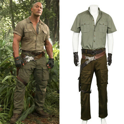 Jumanji: Welcome to the Jungle Costume Spencer  Halloween Adult Men Uniform - Spencer Halloween Costumes