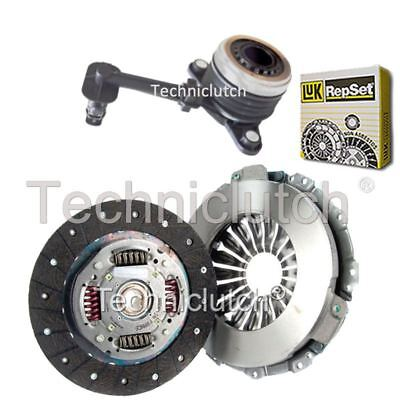 NATIONWIDE 2 PART CLUTCH KIT AND LUK CSC FOR RENAULT SCENIC MPV 1.5 DCI