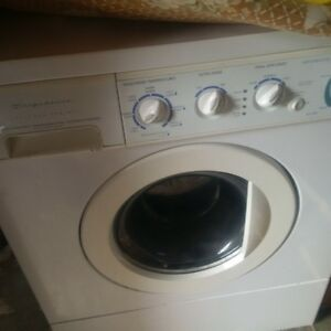 Clean Front Load Frigidaire Washing Machine