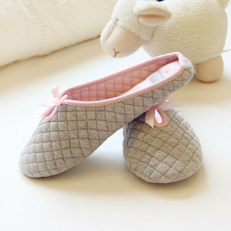 Premium Women's Cozy Breathable Cotton Slippers (2-Pairs)