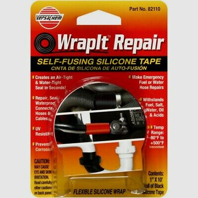 Wrapit Repair 82110 1 X 10 Self-fusing Silicone Repair Tape Itw Global Brand