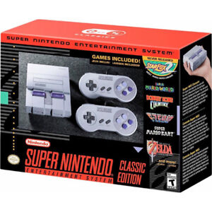 SNES Classic Edition with Warranty - Brand New