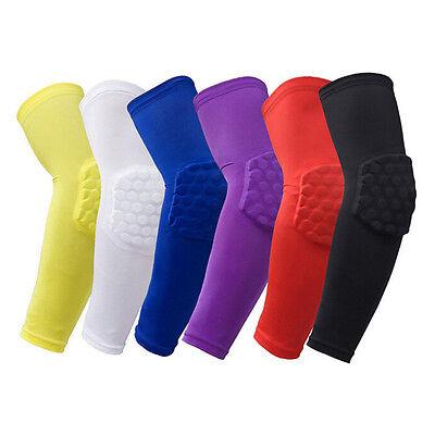 Gear Honeycomb Pad Crashproof Basketball Shooting Arm Sleeve Elbow Support Brace
