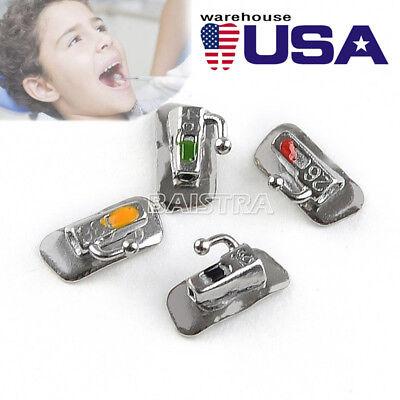 50 X Orthodontic Dental Buccal Tube 1st Molar Bondable Non-convertible Roth .022