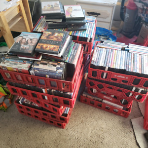 $1.00 DVDS! USED... OR $200 FOR ALL!  OVER 600 TO CHOOSE FROM!