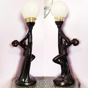Art Deco Vintage Lamps! Pristine condition!