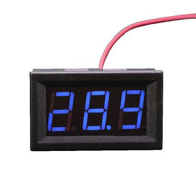 Mini Led Dc Voltmeter Voltage Tester 3-digital Display Volt Panel Meter 12v 24v