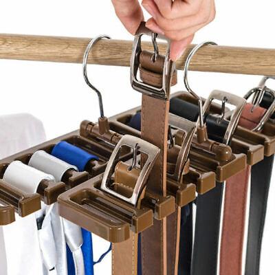Gürtelhalter Krawattenbügel Krawattenhalter Krawatten Kleiderständer Neu (Note Kleiderbügel)