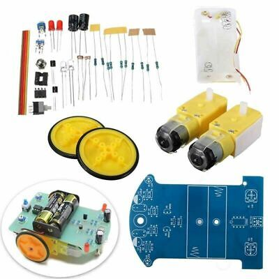 2wd Smart Car Tracking Robot Car Chassis Diy Kit Reduction Motor Fit For Arduino