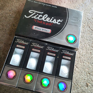 NEW IN BOX! Titleist Pro V1 and Taylor Made Tour Preferred (Doz)