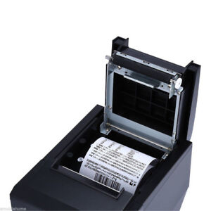 POS Thermal Receipt Printer With USB & Ethernet Interface 80mm