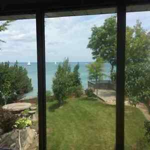 short or long term lakefront house for rent